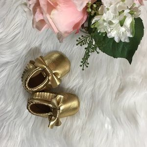 Other - Gold Moccasins